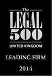 The Legal 500 UK Leading Firm affiliation badge