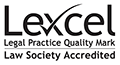 Lexcel affiliation badge