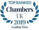 Chambers UK 2019 affiliation badge